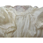 Early Handmade Toddler's Dress, Good For Baby Doll