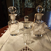 SALE Lot of Early Perfume Bottles
