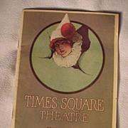 SALE PENDING Art Deco Times Square Theatre Program