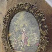 Small Fancy Victorian Frame