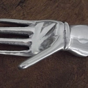 Metal Hand For Calling Cards