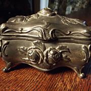 Victorian Metal Casket