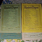 Four Old Reader's Digest
