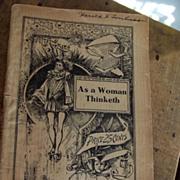 "Denison's ""As A Woman Thinketh"""