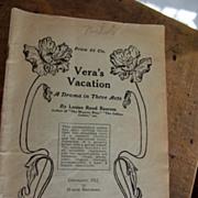 "March Brothers Play ""Vera's Vacatiom"""