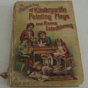 SOLD The American Book of Kindergarten Painting  plays - Red Tag Sale Item