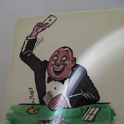 SALE Biarritz Gambling Plates