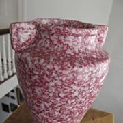 SALE Speckled Pottery Vase