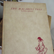 SALE The Macaroni Tree First Edition Signed