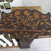 SALE Pyrography Pipe Rack With Pipes