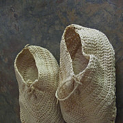 Old Booties and Bonnet