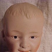 SALE Cabinet Sized Gebruder Heubach  Smiling Baby