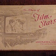 SALE Album of Film Stars, Issued by Tobacco Company