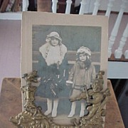 Victorian Cabinet Card Holder