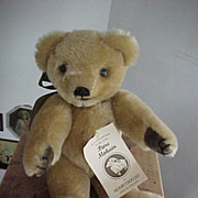 SALE Vintage Harrod's Mohair Merrythought  Bear