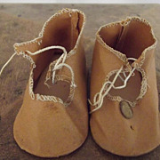 Brown Cloth Shoes