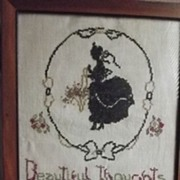 Pretty Cross Stitch Picture
