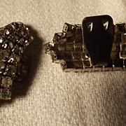 Pair of Rhinestone Shoe Clips