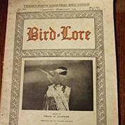 Bird Lore Magazine From 1929