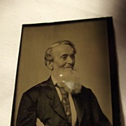Tintype of Bearded Man