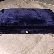 SALE Blue Velvet Case