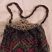 SALE Pretty Beaded Bag