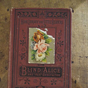 SALE Blind Alice and Her Benefactress