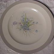 SALE Five Floral Plates