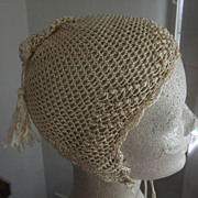 Silk Crocheted Hat