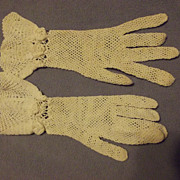 SALE Beautiful Lace Gloves