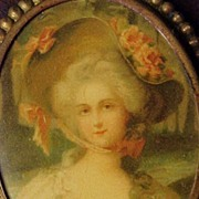 SALE Victorian Pin of Lady