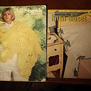 Two Vintage Crochet Books