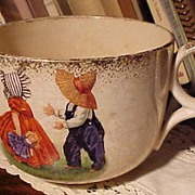 Old Sunbonnet Baby Cup