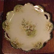 Elegant R.S. Prussia Cake Plate