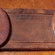 Carved Wood  Book Slide
