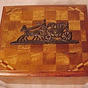 Inlaid Occupied Japan Box