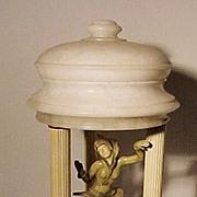 Art Deco Dancing Girl Lamp