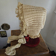 Early Reversible Baby Bonnet