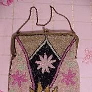 Art Deco Beaded BAg