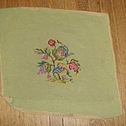 SALE Five Large Old Vintage Needlework Pieces