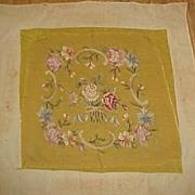 SALE Beautiful Old Needlework