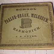 School For The Parlor-Organ-Melodeon and Harmonium