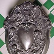 Victorian Hairbrush With Cherubs