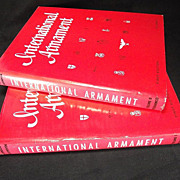 'International Armament' Johnson and Lockhoven 1965 1st ed/1st printing w errata sheets Out of