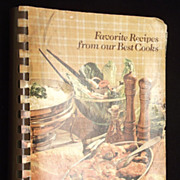 "1982 Louisiana Charity Cookbook ""Favorite Recipes from our Best Cooks"""
