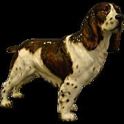 Royal Doulton springer spaniel dog figurine Dry Toast HN2515