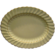 Royal Doulton china Adiran H4816 oval serving platter 13""