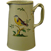 Spode Queens Bird Y4973 small handled pitcher