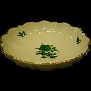 Wien Augarten Maria Theresa 5098 small scalloped edge bowl