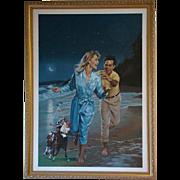 Danny Crouse Harlequin Romance Winner Take All #210 Laurien Berenson oil painting illustration